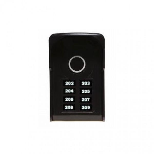 Porteiro Coletivo c/ Teclas Touch 8 Pontos LR 5508 - Líder