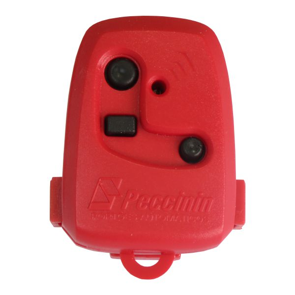 Controle Remoto - Nice 433,92 MHz - Vermelho